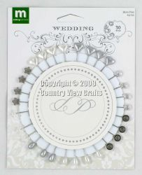 """I Do"" Wedding 30 Deco Pins - Making Memories"